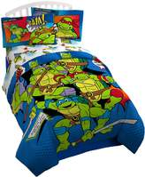 Nickelodeon Teenage Mutant Ninja Turtles Retro Reversible 'Bam/Kapow' Reversible Comforter