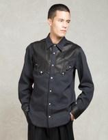 SASQUATCHfabrix. Black Western L/s Shirts