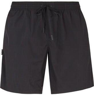 Fendi shaded-effect FF print swim shorts