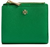 Tory Burch Women's 'Mini Robinson' Leather Wallet - Green