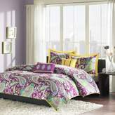 Bed Bath & Beyond Melissa Reversible Twin/Twin XL Duvet Cover Set in Purple