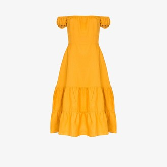 Reformation Toulouse off-the-shoulder dress