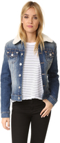 True Religion Western Dusty Trucker Denim Jacket