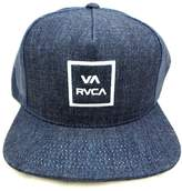RVCA All The Way Trucker Snapback Hat White DNB