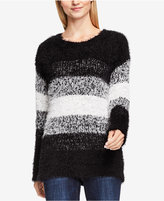 Vince Camuto TWO by Striped Eyelash Sweater