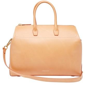Mansur Gavriel Travel Medium Leather Bag - Tan Multi