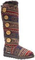 Muk Luks Malena Crotchet Women's Button Knit Sweater Boots