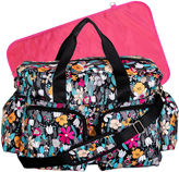 Trend Lab TREND LAB, LLC Floral Deluxe Duffle Diaper Bag