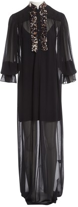 Michel Klein Black Viscose Dresses