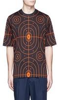 Christopher Kane Target print cotton T-shirt