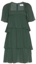 Sonia Rykiel Pleated Cotton Dress