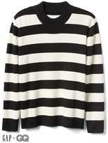 Gap + GQ Ami wool-cashmere stripe sweater
