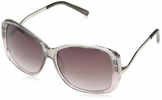 Rocawear Women's R3122 Stand-Out UV Protective Oval Chain-Linked Metal Rhinestone Studded Temple Sunglasses