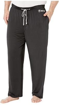 Stacy Adams Big Tall Sleep Pants (Black) Men's Pajama