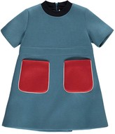 Marni Neoprene Dress with Contrast Pockets