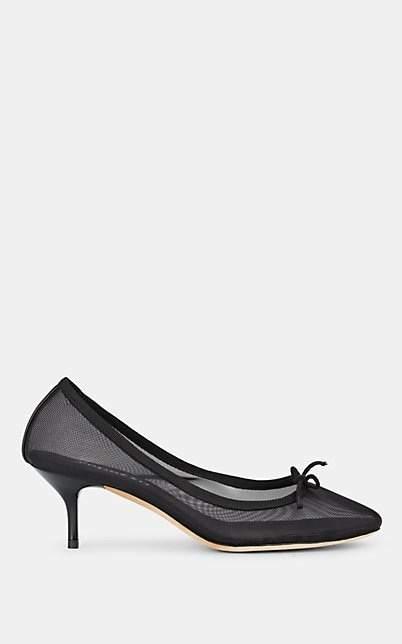Repetto Women's Gisele Mesh Pumps - Black