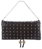 Thomas Wylde Studded Leather Flap Bag