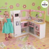 Kid Kraft Grand Gourmet Corner Wooden Play Kitchen