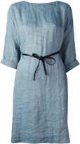 Forte Forte belted dress - women - Linen/Flax - 2