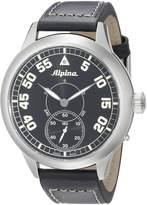 Alpina Men's AL-435BN4SH6 Pilot Heritage Analog Display Mechanical Hand Wind Watch