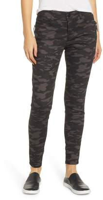 Wit & Wisdom Ab-Solution Camo Ankle Pants (Regular & Petite) (Nordstrom Exclusive)