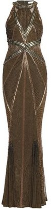 Rachel Gilbert Thyra Embellished Tulle Gown