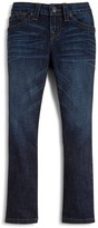 True Religion Boys' Geno Relaxed Slim Stretch Jeans