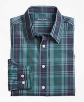 Brooks Brothers Non-Iron Plaid Sport Shirt