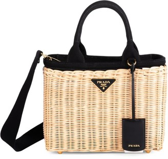 Prada Small Basket Tote