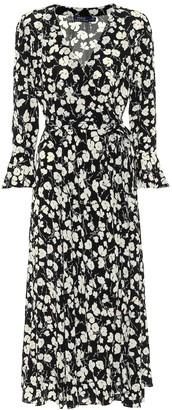 Polo Ralph Lauren Floral crepe de chine midi dress