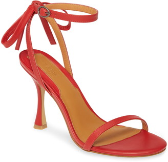 Jaggar Bow Ankle Strap Sandal