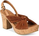 Kenneth Cole Reaction Tole Booth Platform Slingback Sandals Women's Shoes