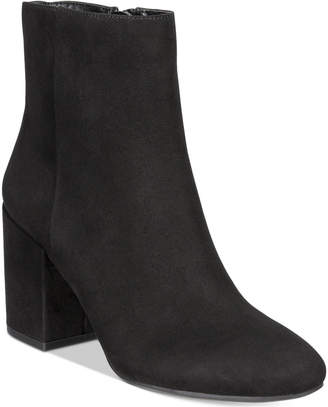 Bar III Gatlin Block-Heel Booties, Women Shoes