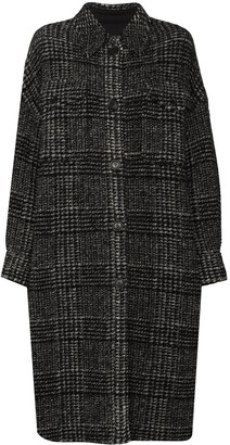 Etoile Isabel Marant Gabrion check-pattern coat