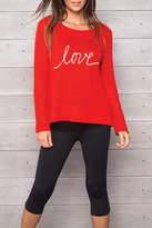Wooden Ships Love Crew Sweater