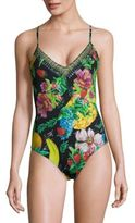 Camilla One-Piece Floral Swimsuit
