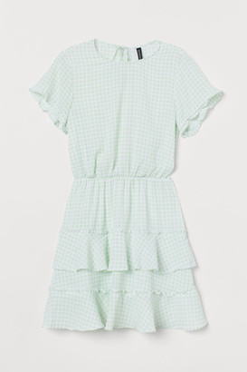 H&M Tiered Dress - Green