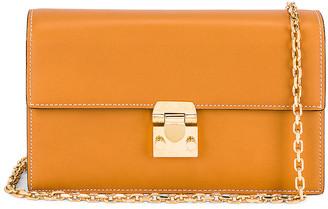 Mark Cross Jacqueline Chain Bag in Luggage | FWRD