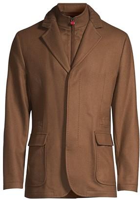 Kiton Bib-Inset Cashmere Jacket