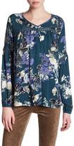 Jack Long Sleeve Floral Blouse
