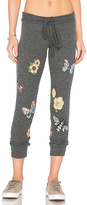 Lauren Moshi Kizzy Classic Sweatpant in Charcoal. - size M (also in S,XS)
