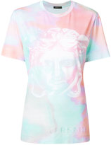 Versace Pastel Medusa print T-shirt