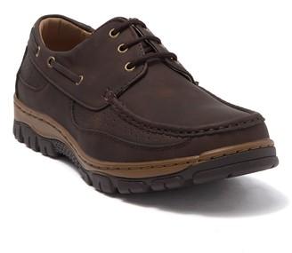 Hawke & Co Rogan Lace-Up Moc Toe Boat Shoe