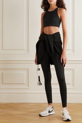 Girlfriend Collective + Net Sustain Topanga Recycled Stretch Sports Bra - Black