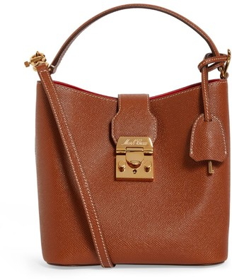 Mark Cross Small Leather Murphy Bucket Bag