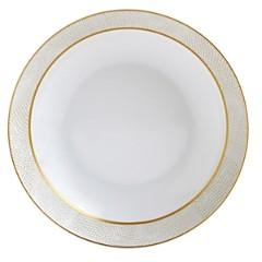 Bernardaud Sauvage White Coupe Soup Bowl
