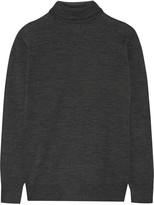 Tomas Maier Fine-knit wool turtleneck sweater