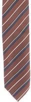 Prada Silk Striped Tie w/ Tags