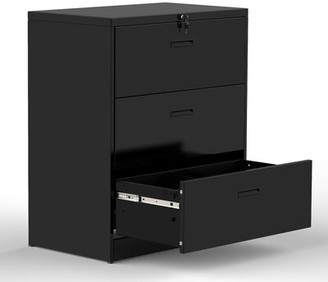 File Cabinets 4 Drawers Showcase Multi-Function Cabinet Desktop Archive Storage Manager Blue Office File Storage Cabinet Storage Box Locking Home Office Furniture