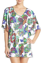 Trina Turk Finding Dory Print Cover-Up Tunic